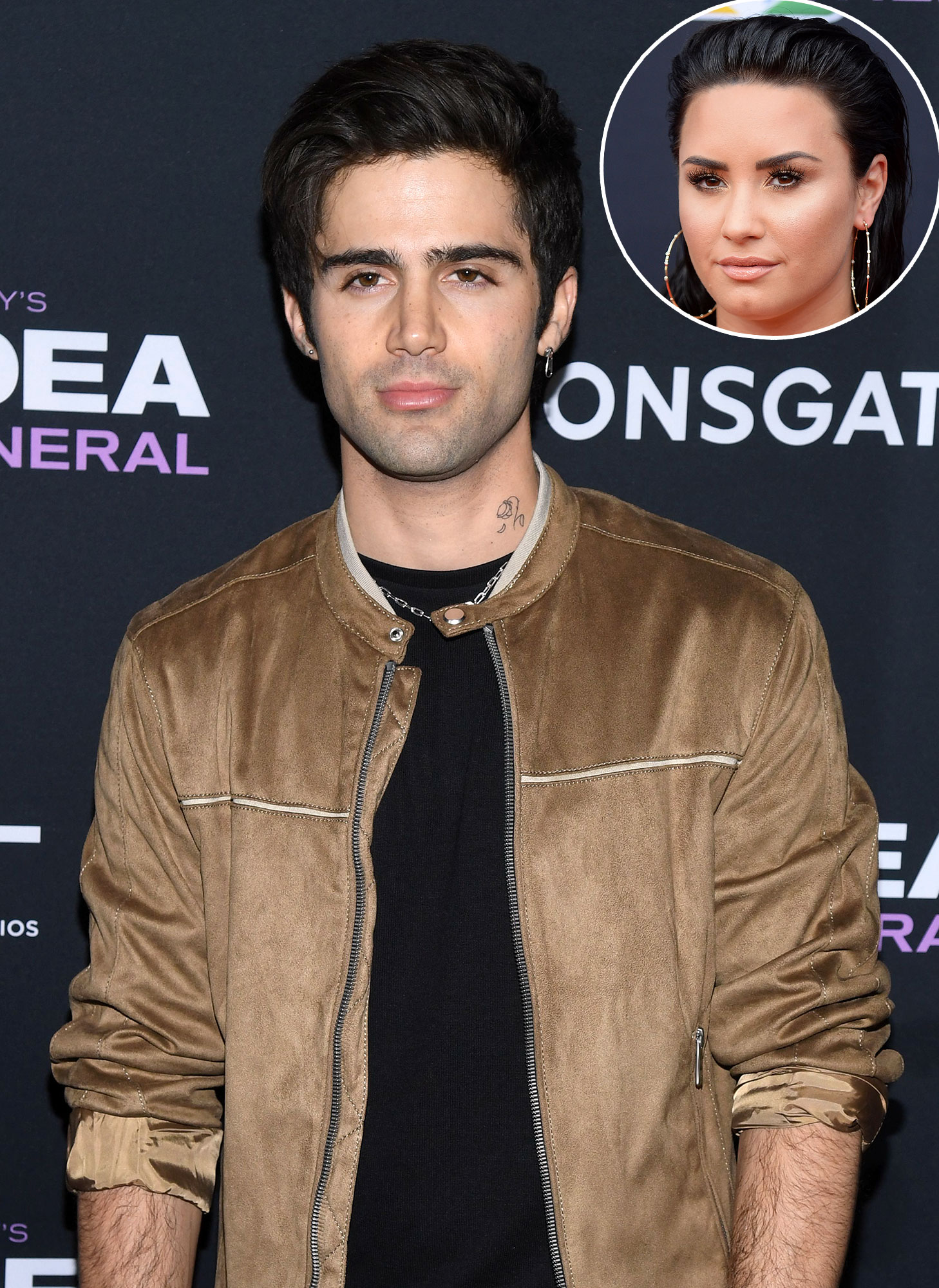 Who Is Max Ehrich Demi Lovatos New Boyfriend Is A Soap Actor