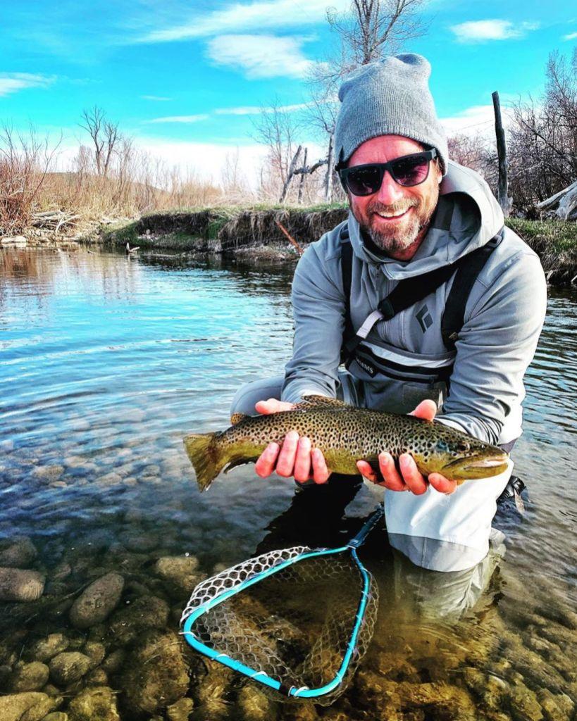 Christian Schauf Holding Fish