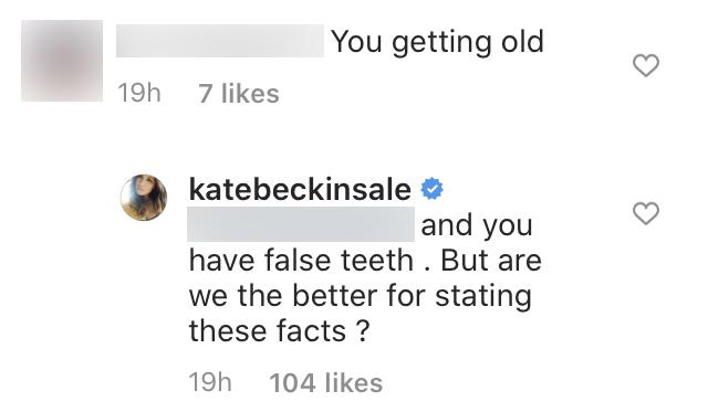 Kate Beckinsale Claps Back at Instagram Troll Calling Her Old