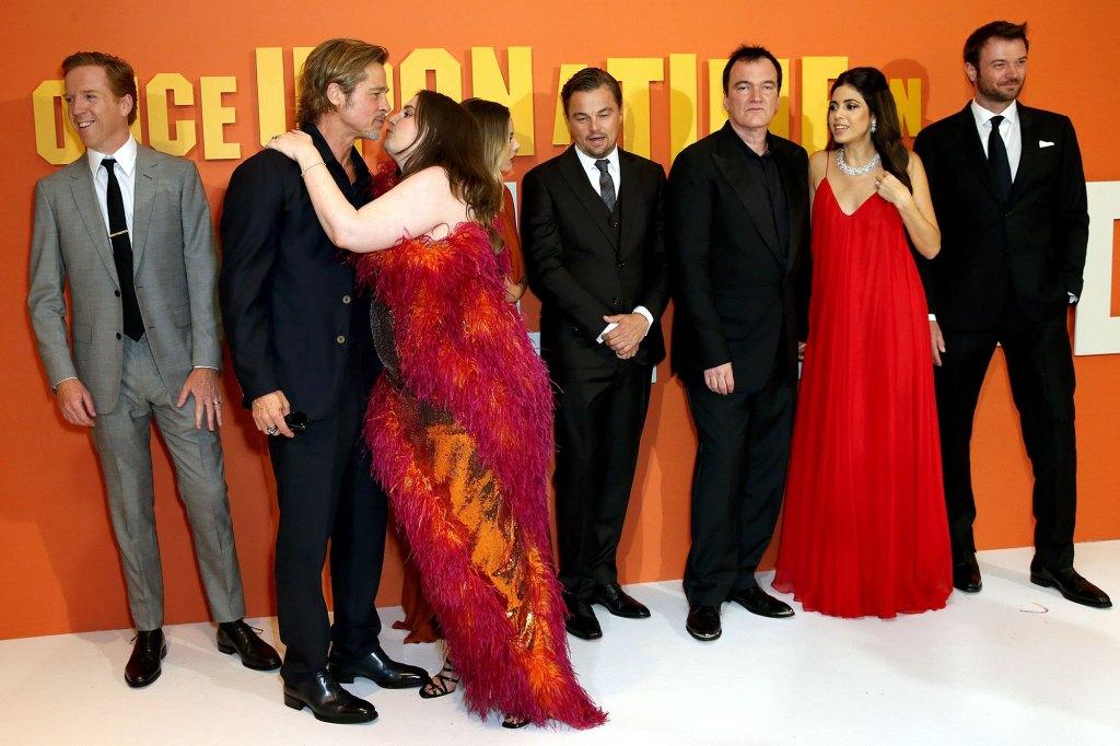 Lena Dunham Addresses Her Awkward Kiss With Brad Pitt