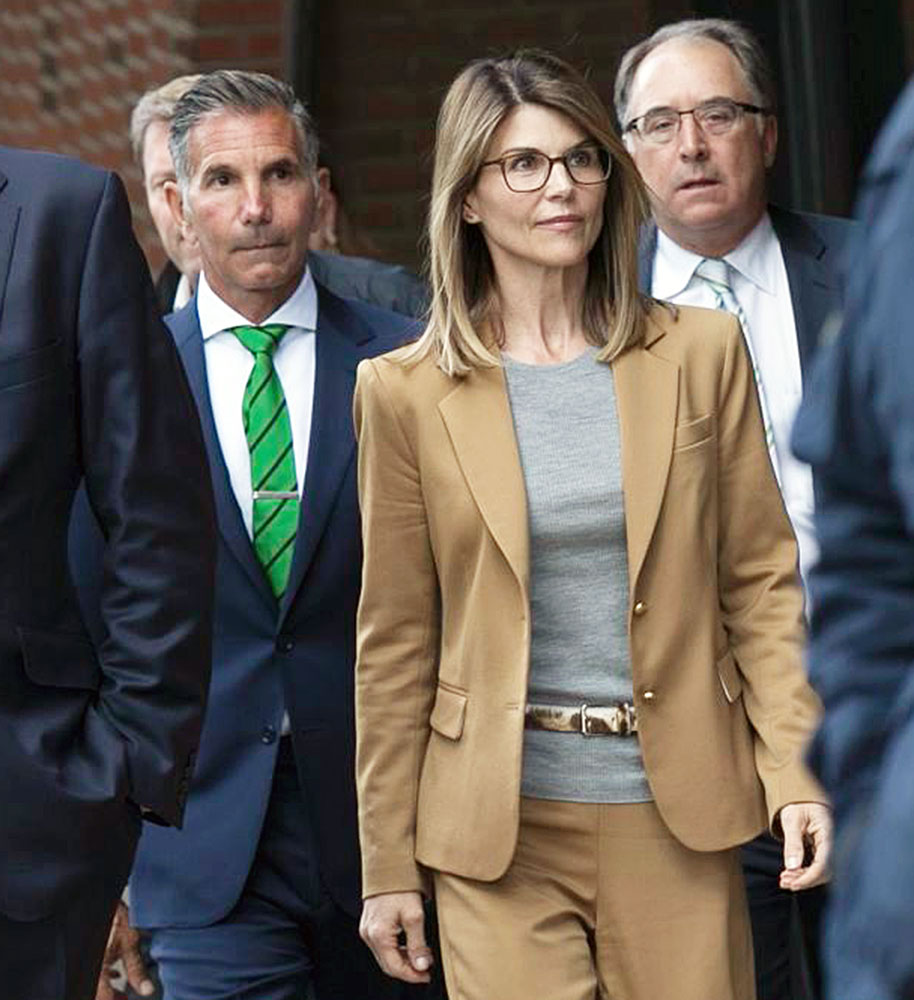 Lori Loughlin and Mossimo Giannulli Leaving Court Mossimo Giannulli and Lori Loughlin Daughters Have Peace of Mind After Scandal Plea Deal