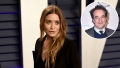 Inset Photo of Olivier Sarkozy Over Photo of Mary-Kate Olsen