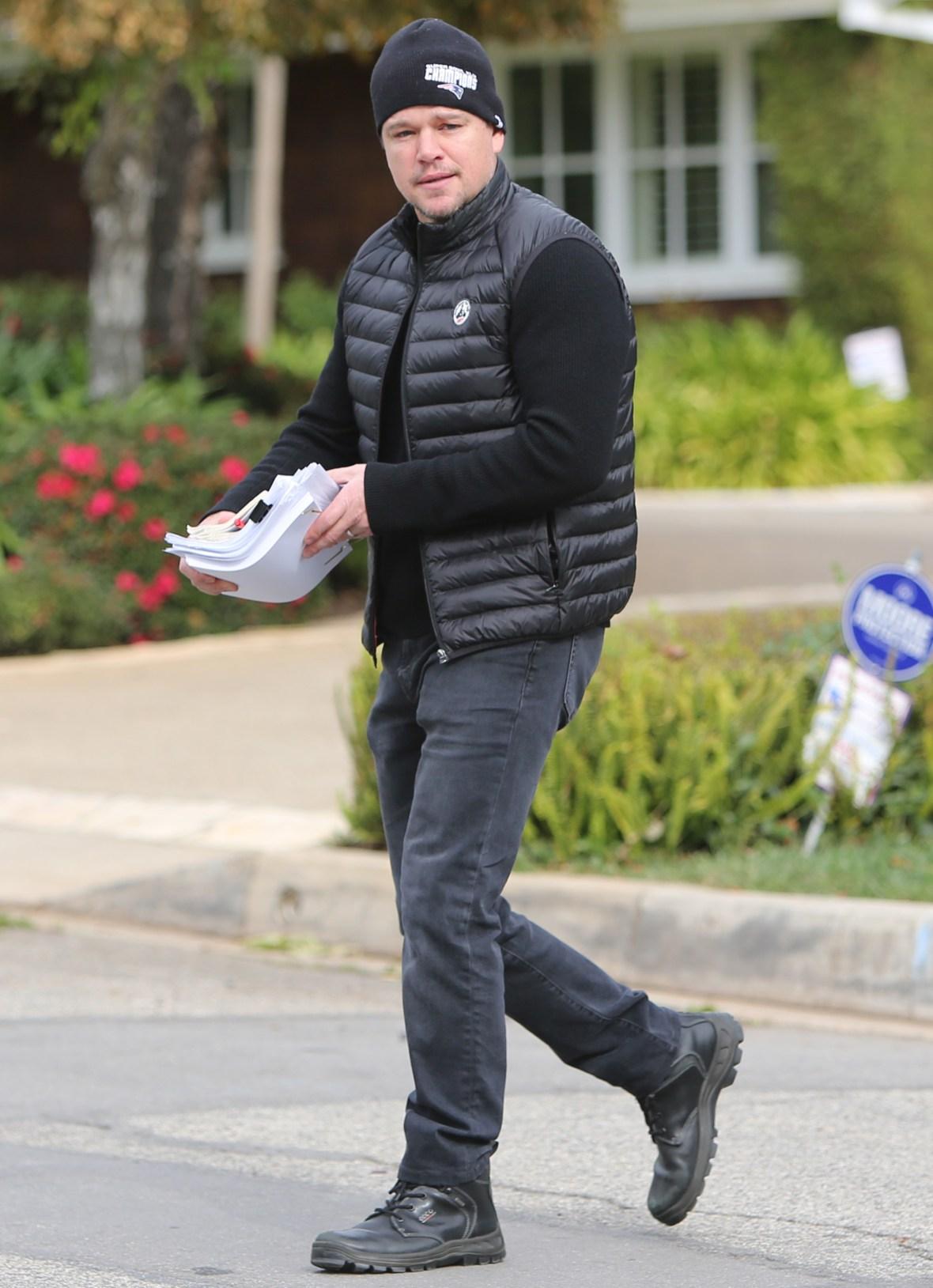 Matt Damon Daughter Coronavirus
