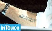 Matt Lauer Gets New Tattoo