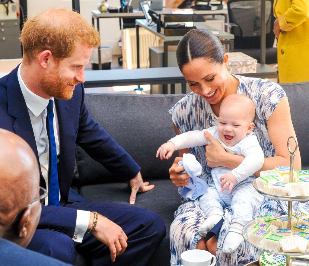 Meghan Markle Prince Harry Archie Pics
