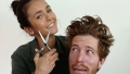 Nina Dobrev Plays 'Hairdresser' and Gives Boyfriend Shaun White a Haircut in Instagram Couple Debut