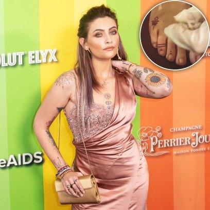 Paris Jackson Gives Herself a Tattoo While Quarantining at Home Amid the Coronavirus Pandemic