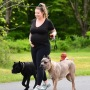Pregnant Teen Mom 2 Star Kailyn Lowry Takes Dogs For a Walk