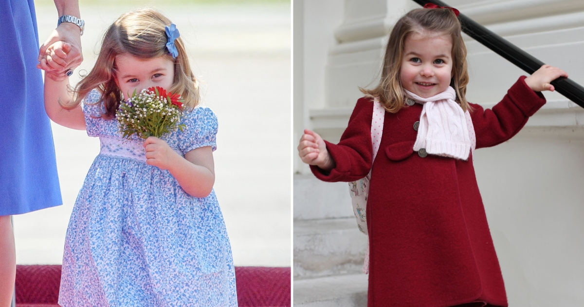 Princess Charlotte Is Following in Mom Kate's Fashionable Footsteps