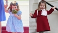 Side-by-Side Photos of Princess Charlotte