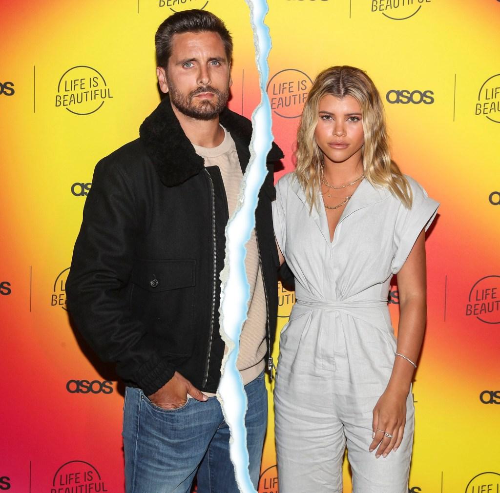 Scott Disick and Sofia Richie Split