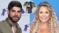 Side-by-Side Photos of David Eason and Kailyn Lowry With Inset Photo of Jenelle Evans