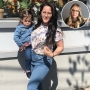 Inset Photo of Kailyn Lowry Over Photo of Jenelle Evans