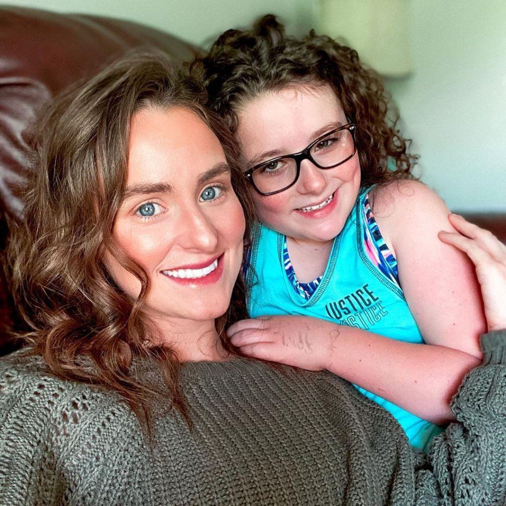 Leah Messer and Daughter Ali