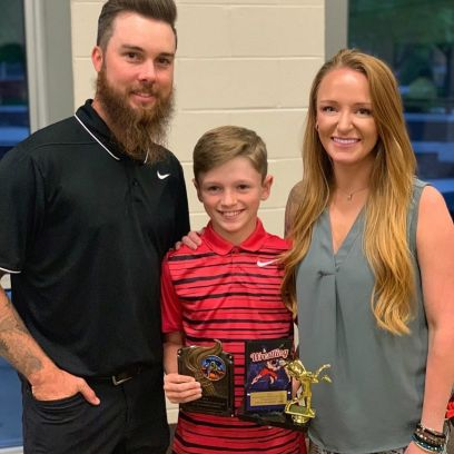 Maci Bookout With Husband Taylor McKinney and Son Bentley Edwards