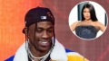Inset Photo of Kylie Jenner Over Travis Scott