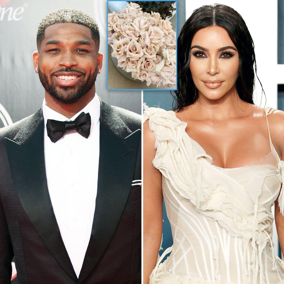 Tristan Thompson Sends Flowers to Kim Kardashian Ahead of Mothers Day