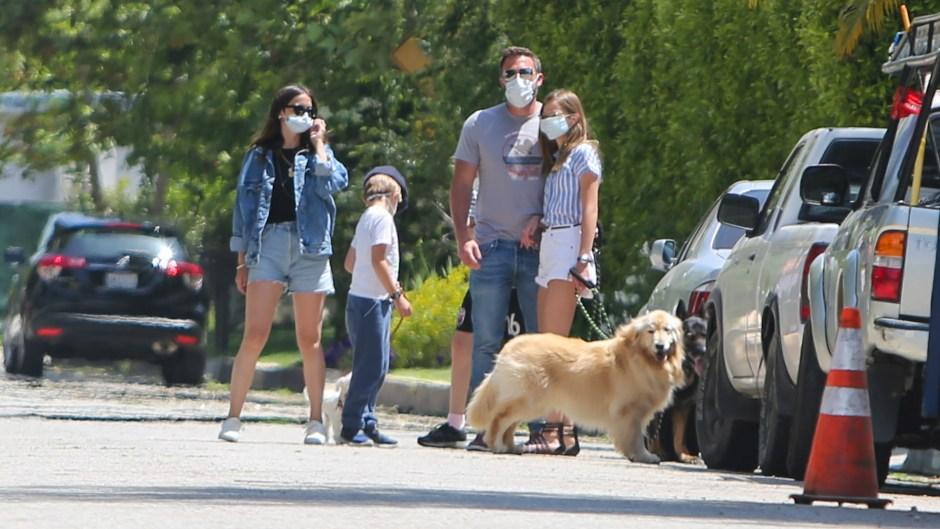 ben affleck introduces girlfriend ana de armas to his kids