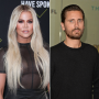 khloe kardashian scott disick react kourtney kim fight