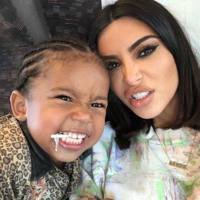 Kim Kardashina's Son Saint West's Cutest Moments