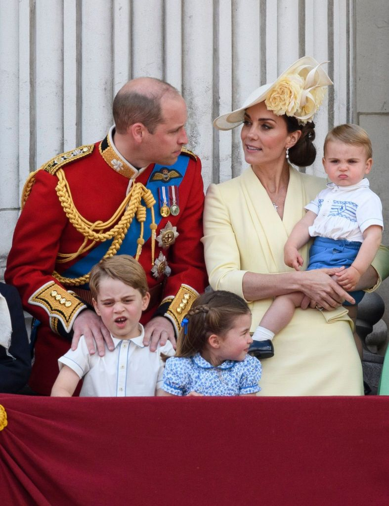 Prince William with Kate Middleton and Kids, Admits He Was Scared to Have Children