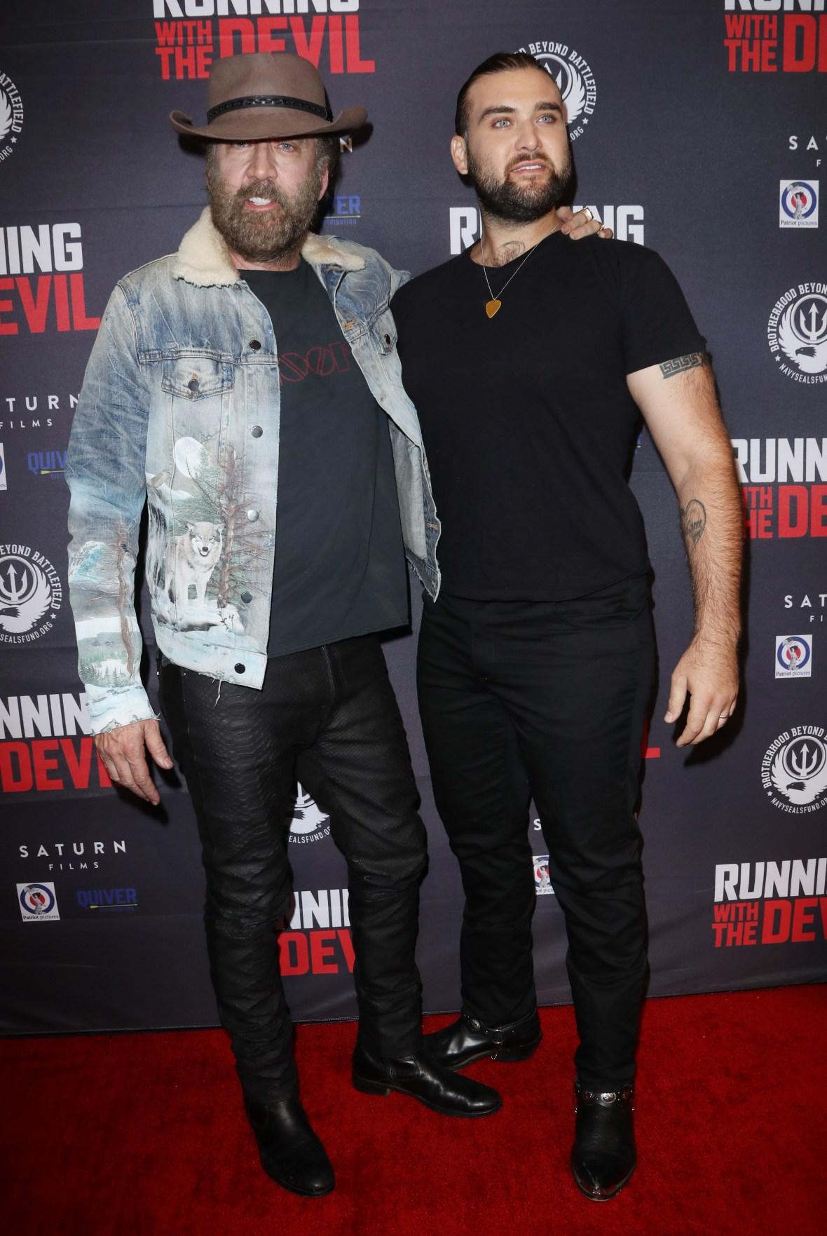 Nicolas Cage and Son Weston