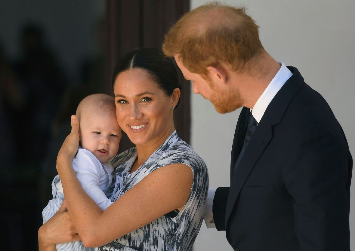 Prince Harry Meghan Markle Share Video For Archies 1st Birthday