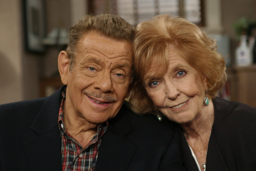 Jerry Stiller and Wife Anne Meara Smile Together