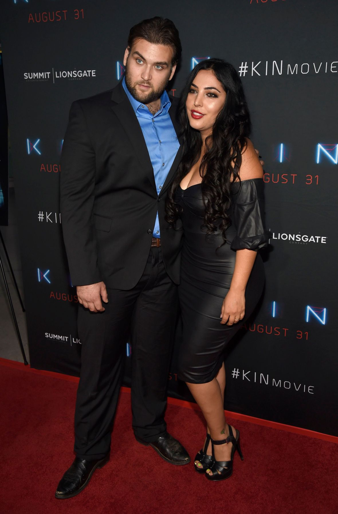Weston Cage and Wife Hila