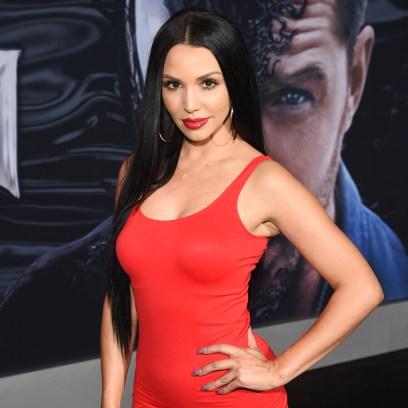 Vanderpump Rules Star Scheana Marie Wears Red Mini Dress