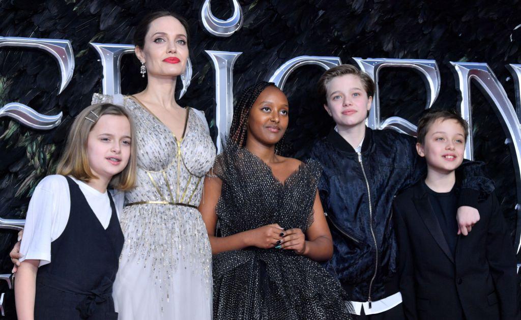 Angelina Jolie and Brad Pitt's Kids Today