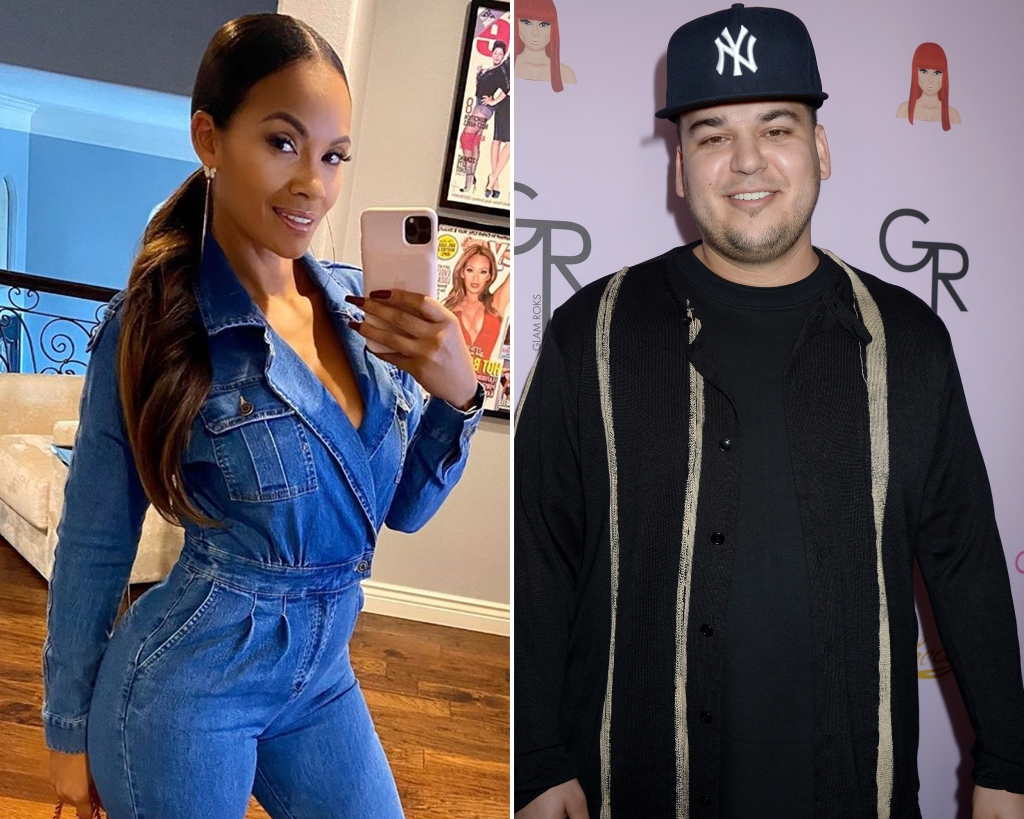 Side-by-Side Photos of Evelyn Lozada and Rob Kardashian