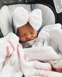 Carlin Bates and Evan Stewart's Daughter Layla