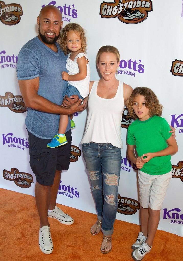 Hank Baskett and family