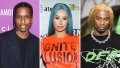 Side-by-Side Photos of ASAP Rocky, Iggy Azalea, Playboi Carti