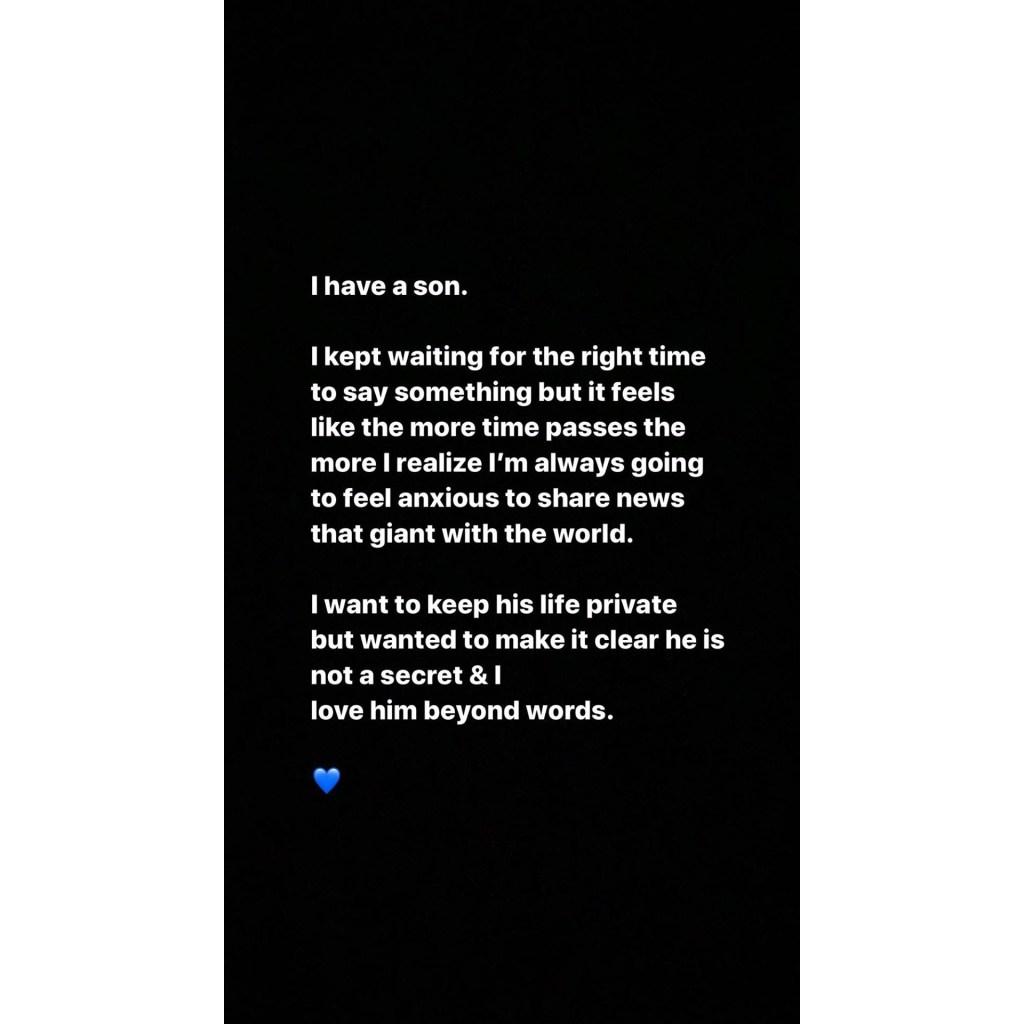 Iggy Azalea Reveals She Has a Son She Wants to Keep Private
