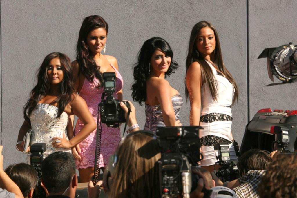 Jersey Shore Cast 2010 MTV Movie Awards