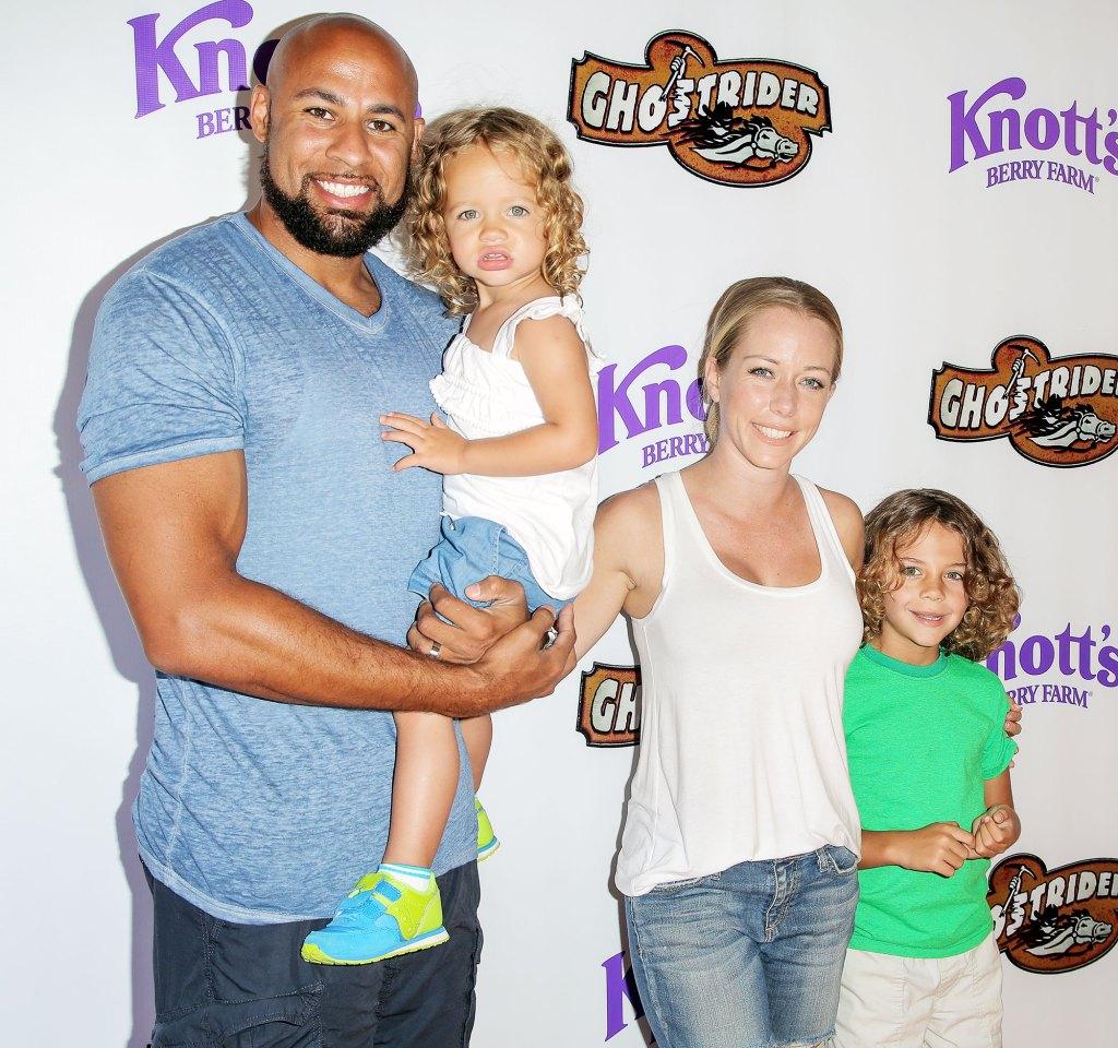 Kendra Wilkinson Snubs Ex-Husband Hank Baskett on Fathers Day