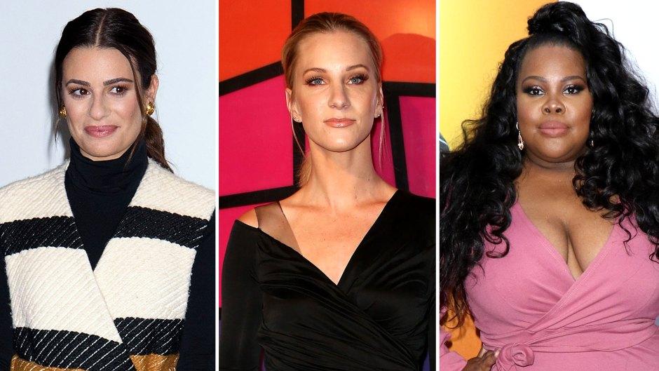 Lea Michele Glee Costars Speak Up Amid Bullying Allegations
