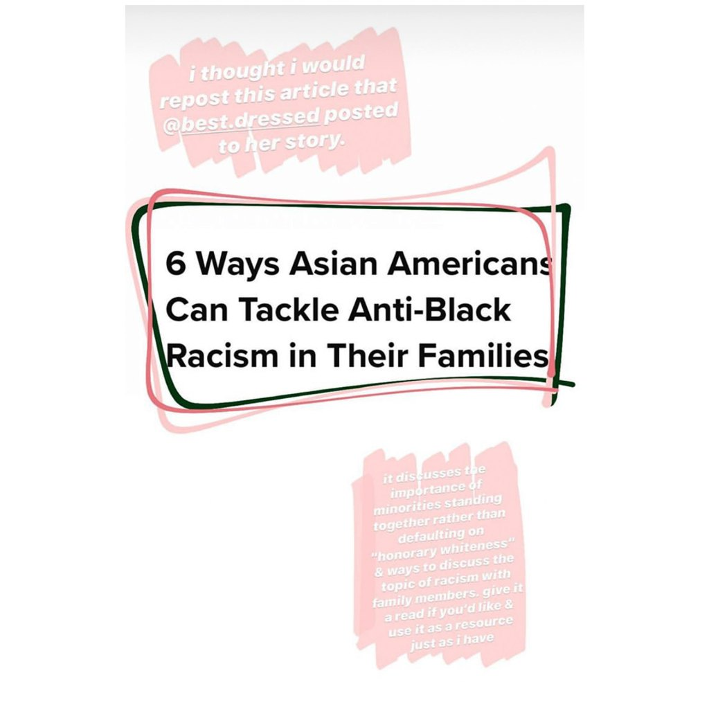 Mady Gosselin Shares Ways Asian Americans Can Tackle Anti-Black Racism'