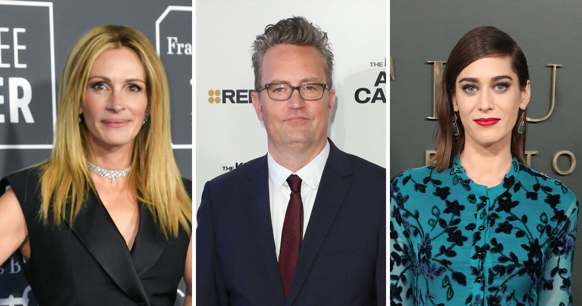 Matthew Perry Dated Some of Hollywood's Most Famous Women