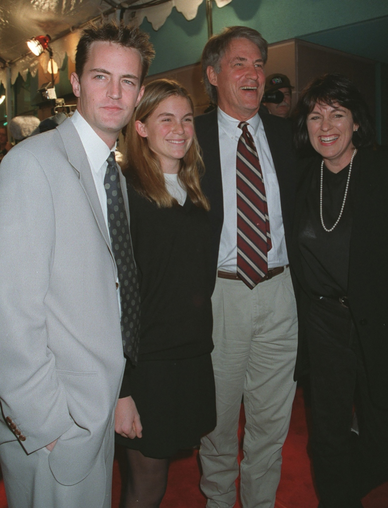 Matthew Perry and family