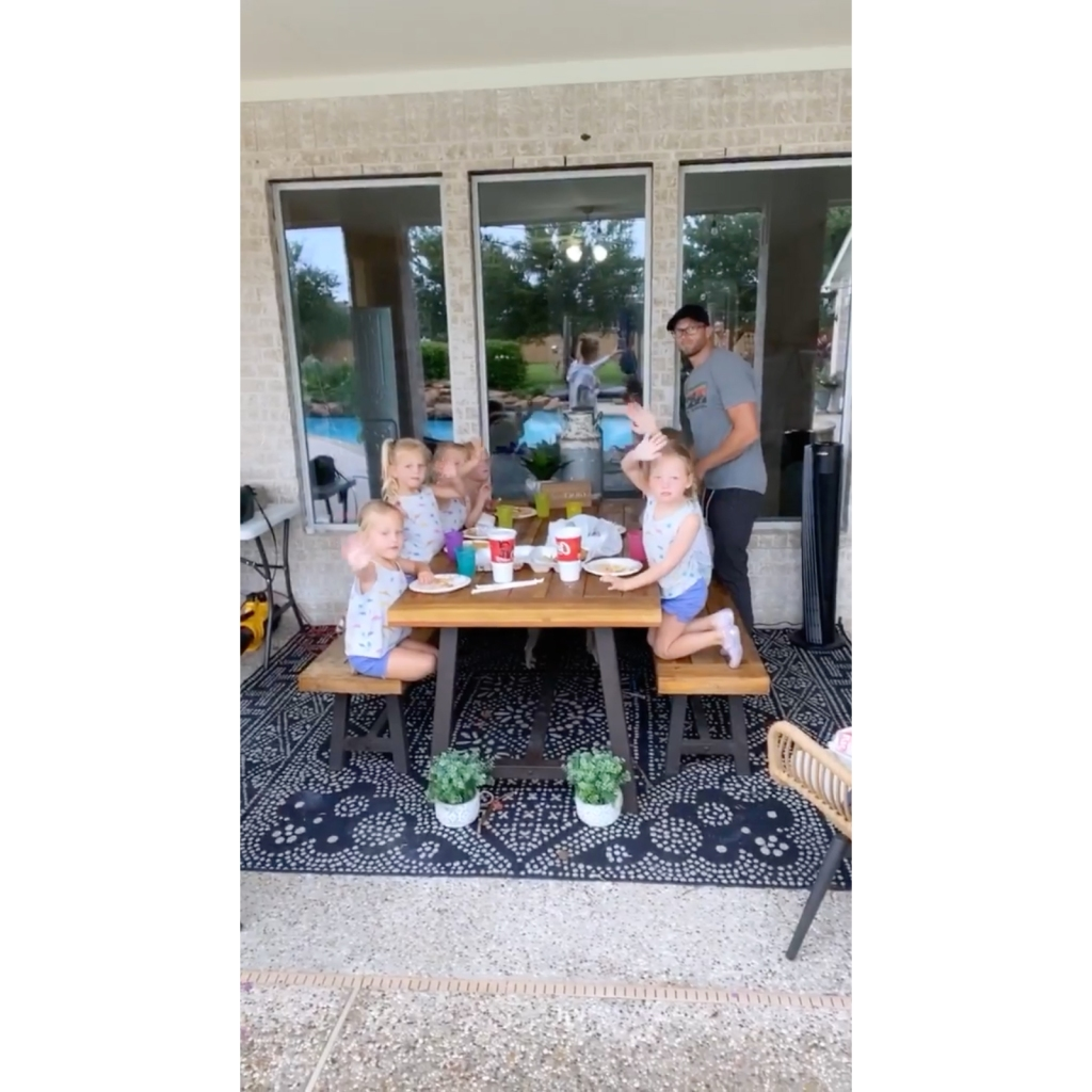 OutDaughtered Star Danielle Busby Shows Off Outdoor Dining Area