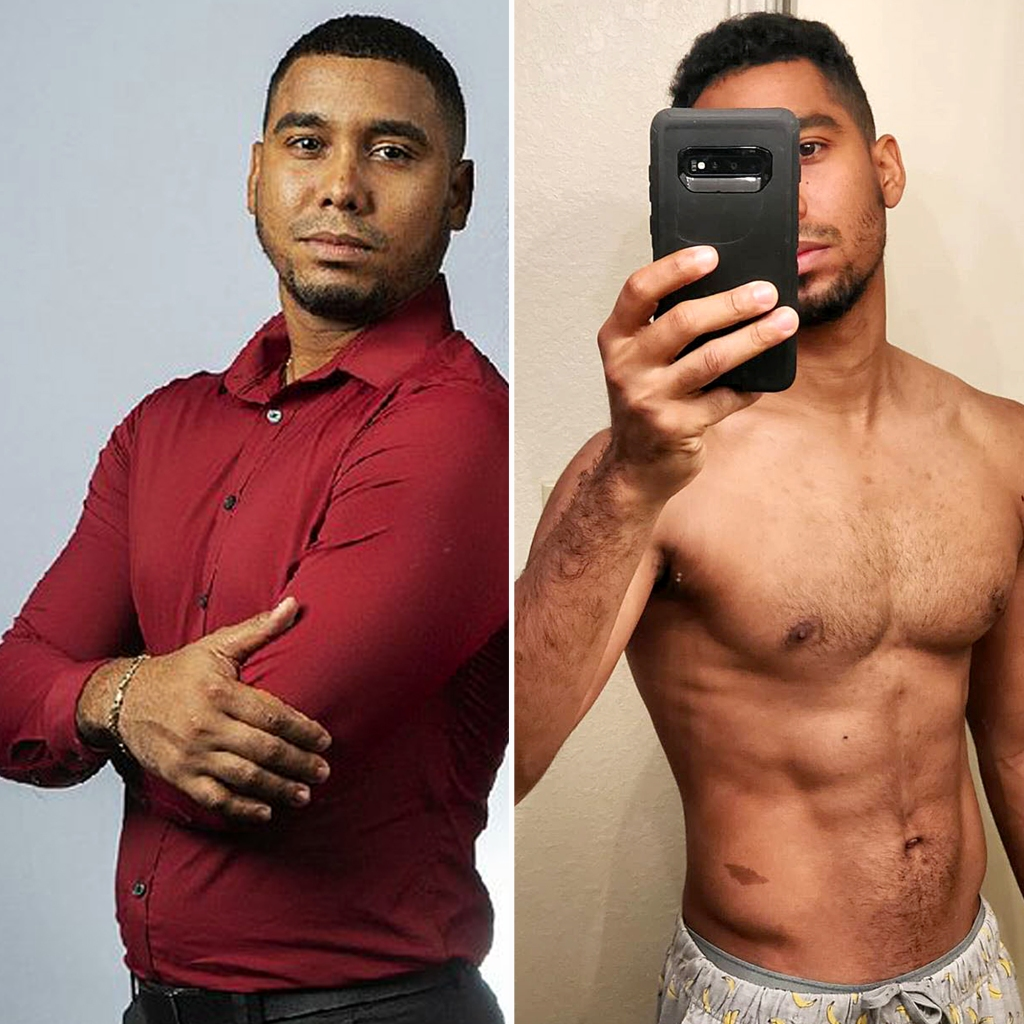 Pedro Jimeno Shows Off 45-Pound Weight Loss After 7 Months