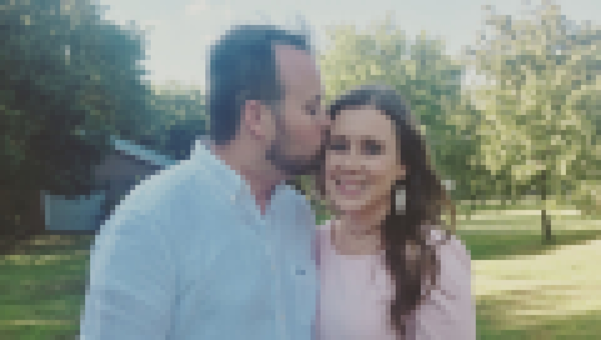 Josh and Anna Duggar PDA Photo