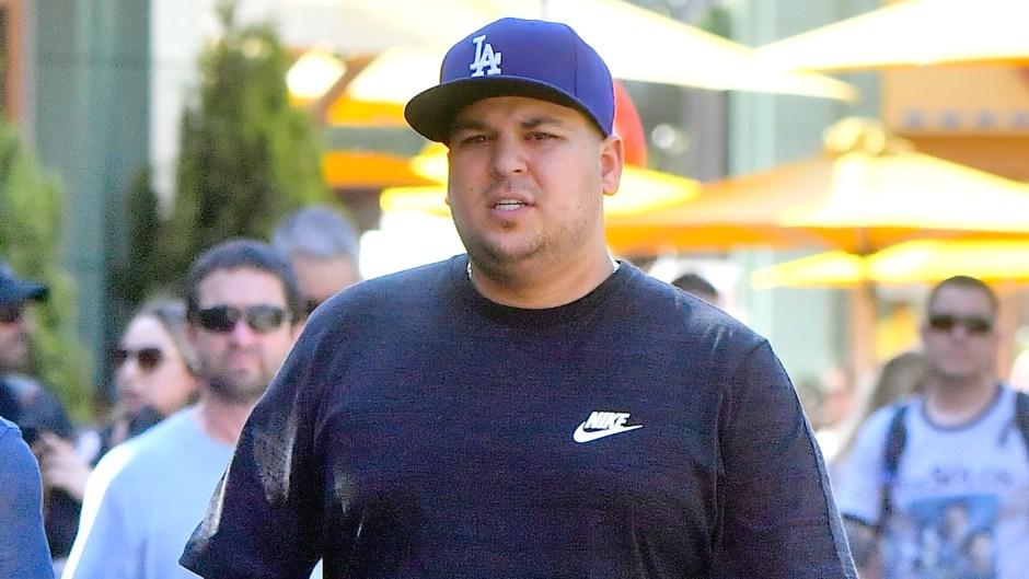 Rob Kardashian Loses Weight — Photos