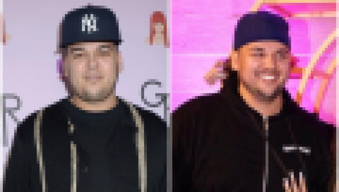 Rob Kardashian Weight Loss Transformation