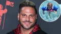 Jersey Shore Ronnie Ortiz-Magro Spends Pool Day With Daughter Ariana