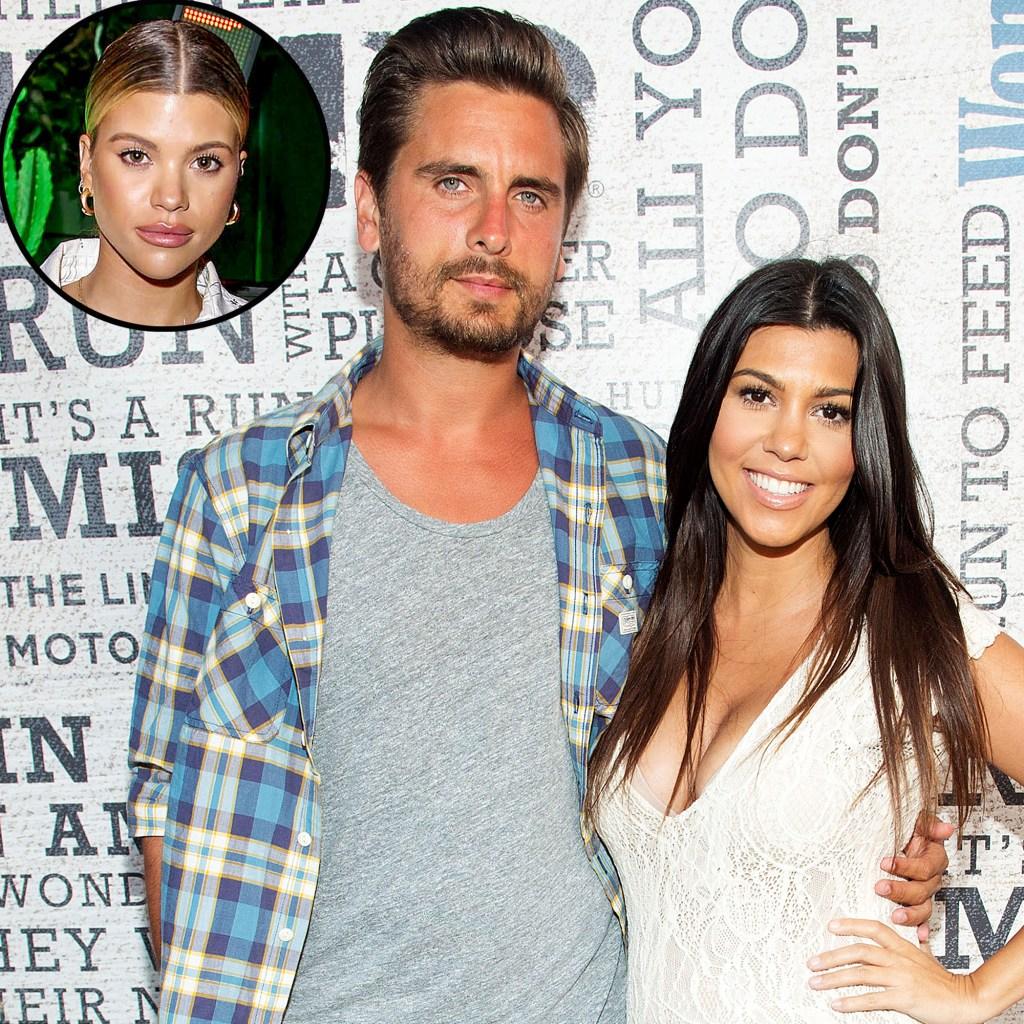 Scott Disick Kourtney Kardashian Got Closer Amid Sofia Richie Split