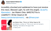 This Is Us Cast Reacts to Jas Waters' Death